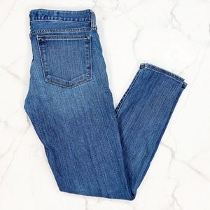 JCrew Toothpick Medium Wash Skinny Jeans Size 27